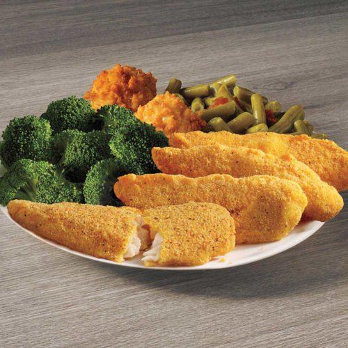 Fish Tenders Meal