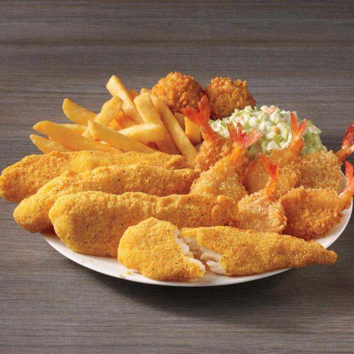 Fish Tenders & Shrimp Meal